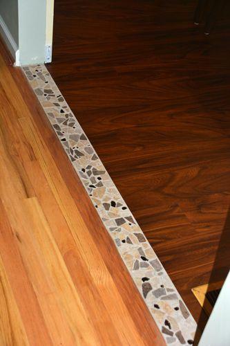 vinyl plank flooring transition to