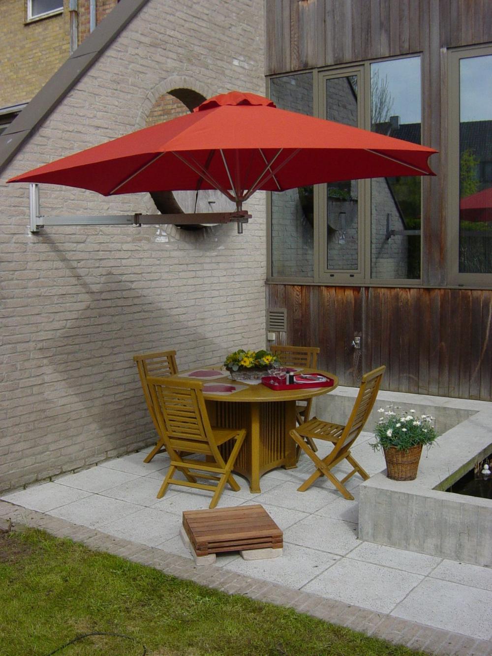 14 Sombrillas para patio