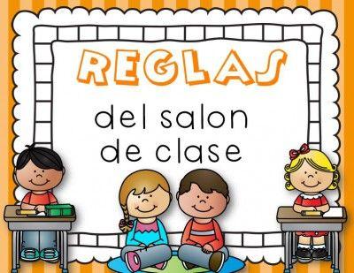 Reglas de clase 2 educacion pinterest class rules for 10 reglas del salon de clases en ingles