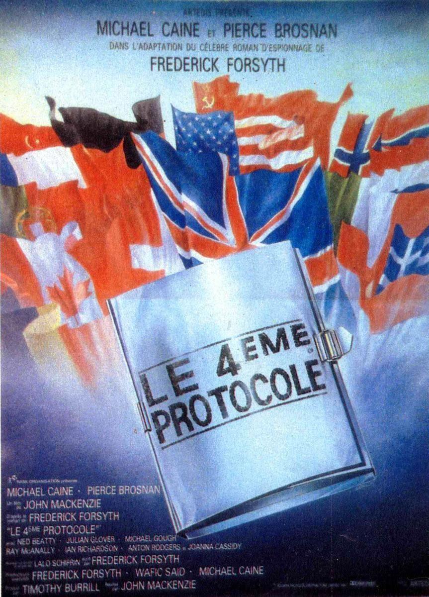 El cuarto protocolo (1987) DVD | clasicofilm / cine online ...