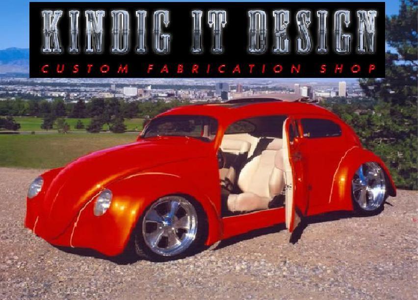 Dave Kindig, Kindig-It Design, and Volkswagens. Local Car Restoration company #utah #classiccars