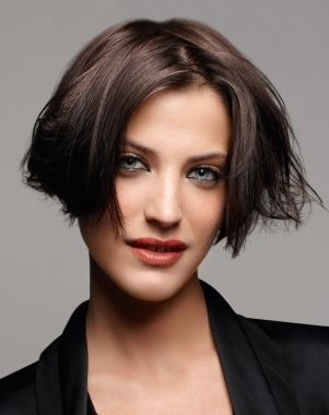 One Length Ultra Short Bob Hairstyles Pinterest Hair Styles