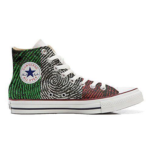 Converse Custom Slim personalisierte Schuhe (Handwerk Produkt) Quirky Paisley  33 EU