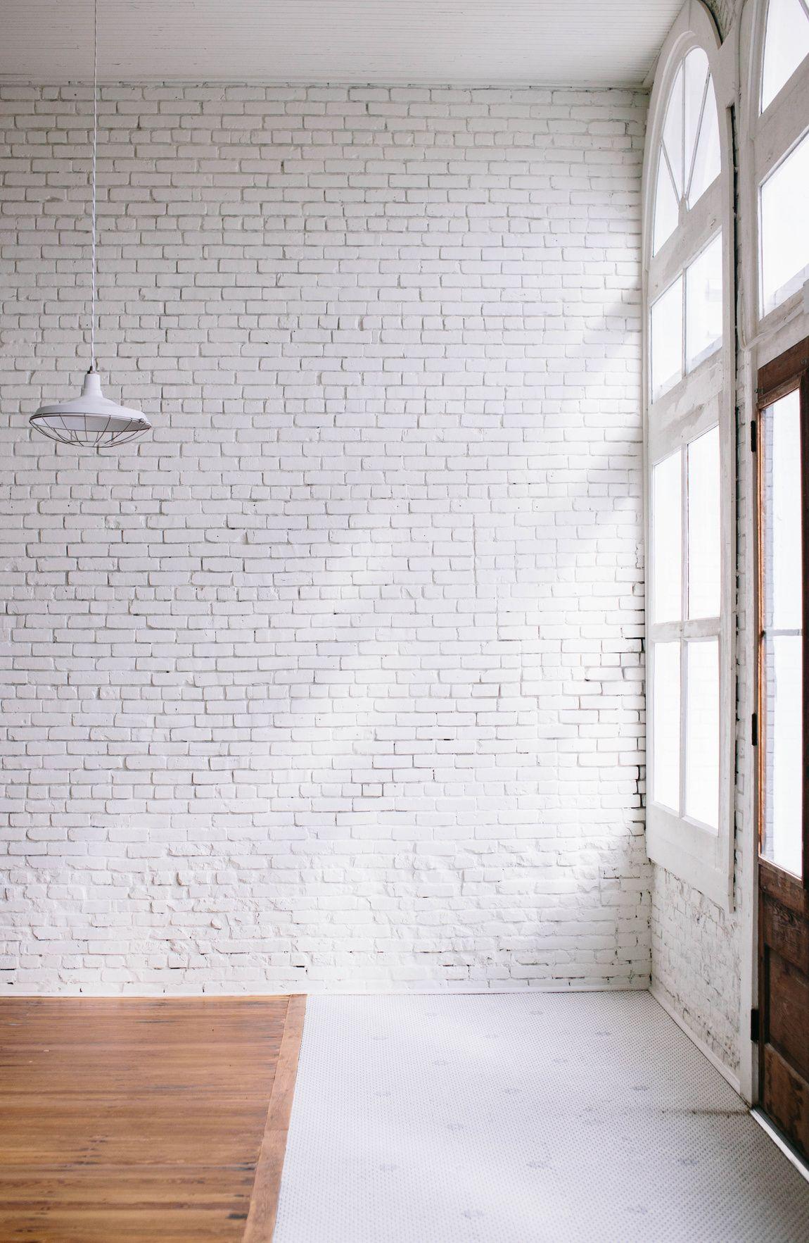 One Eleven East White Brick Walls Brick Interior Wall White Brick