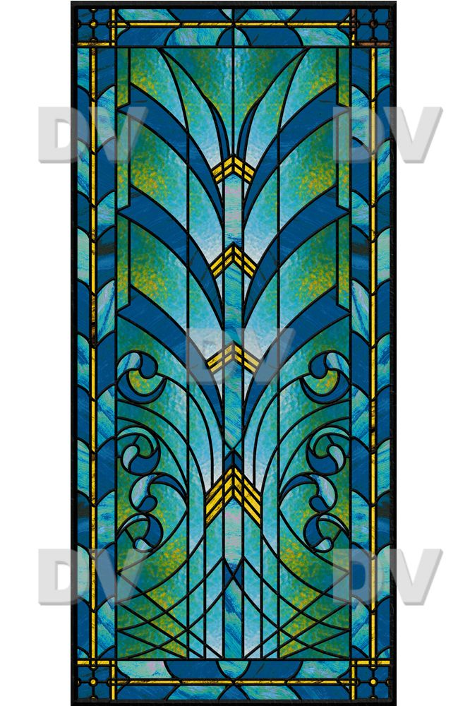 vit192 sticker vitrail art deco stained glass pinterest art deco art and deco. Black Bedroom Furniture Sets. Home Design Ideas