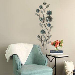 Blossoming Buds Wall Du00e9cor Metal Handmade Du00e9cor Home Decor Decor Stratton Home Decor