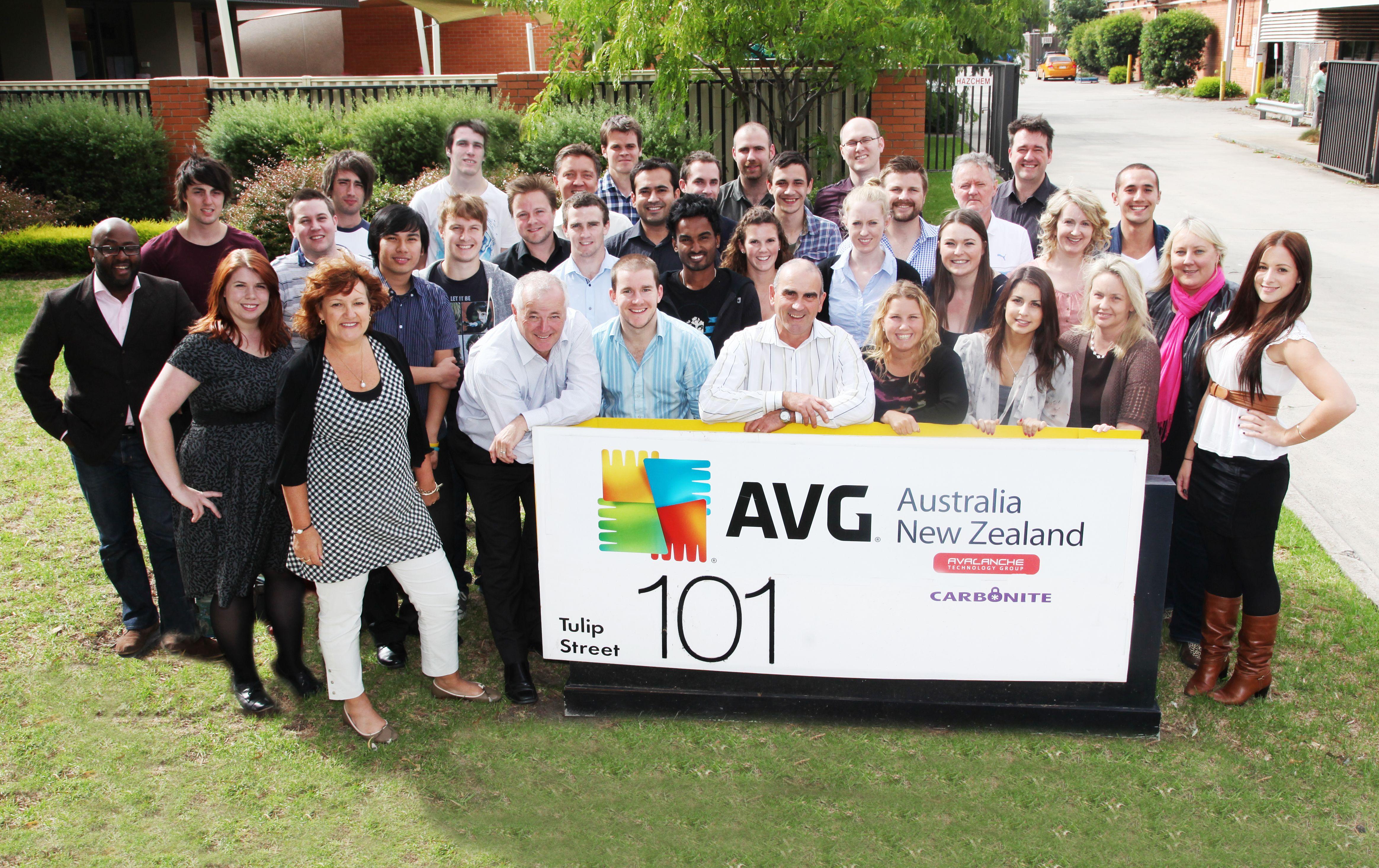 The AVG (AU/NZ) Team!