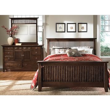 Value City Furniture Arts And Crafts Bedroom | Crafting