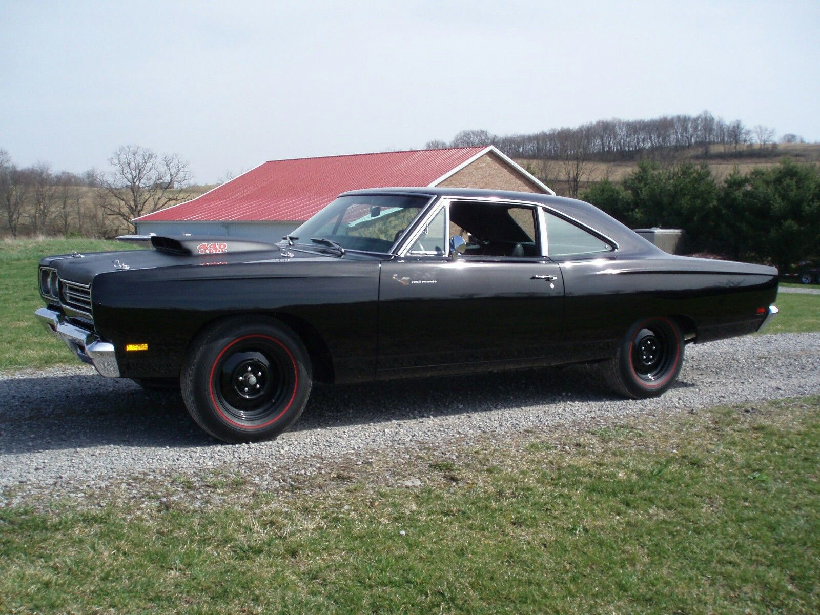 UNRESTOREDORIGINAL 1969 1/2 440+6 BBL A-12 PLYMOUTH ROADRUNNER IN EXISTENCE! THIS CAR HAS A UFS CERTIFIED UNRESTORED FACTORY STOCK CERTIFICATE. 1 OF 388 4-SPEED COUPES BUILT. EXTREMELY RARE SINISTER BLACK ON BLACK! THE CAR RETAINS 100% OF IT'S ORIGINAL SHEETMETAL AND OVER 60% OF IT'S ORIGINAL BLACK PAINT FROM THE FACTORY! THIS CAR IS VERY CLEAN, DRY, TIGHT AND RUNS AND DRIVES EXCELLENT. IT PULLS THROUGH THE GEARS REAL HARD AND IS REALLY FAST LIKE A 440+6 BBL SHOULD BE! VERY SUCCESSFUL AND…