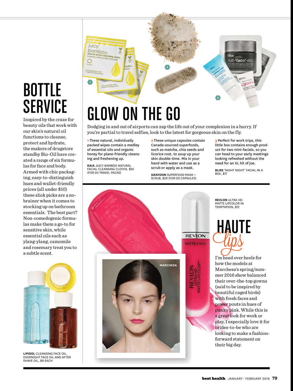Our Superfood Mask + Scrub in Best Health! Product