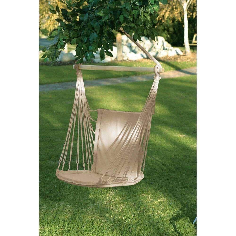 Merveilleux Cotton Padded Hammock Chair