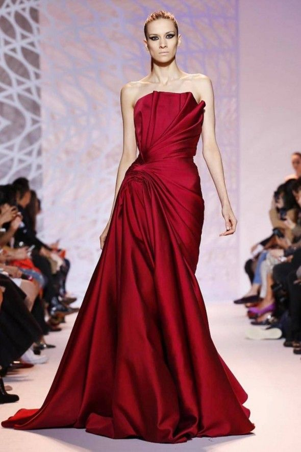 red couture dresses - Google Search | DRESSES | Pinterest | Zuhair ...