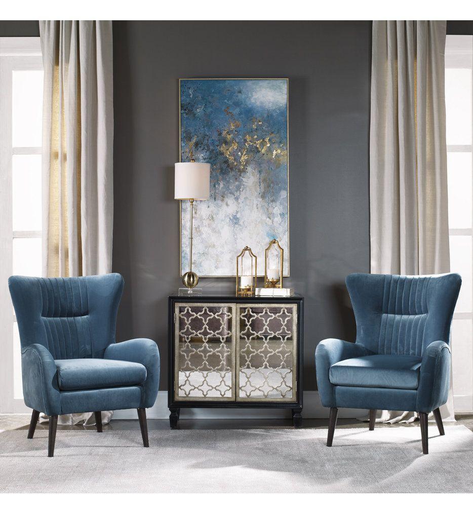 Uttermost 31407 Floating Abstract Art In 2020 Bobs Furniture Living Room Living Room Bench Interior Design Living Room