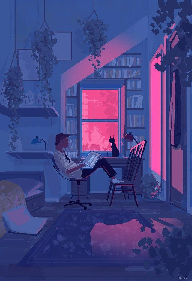 patience and perseverance, Pascal Campion, Digital, 2020