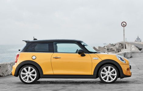2015 Mini Cooper S Side View Mini Mini Cooper Hardtop Mini