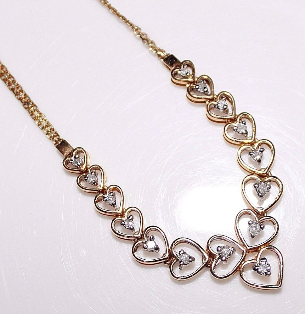 gold today jewelry h i diamond tdw shipping free yellow overstock heavy product necklace chain watches estate