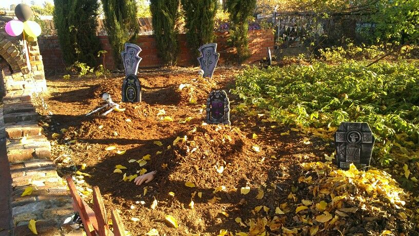 Grave yard halloween party