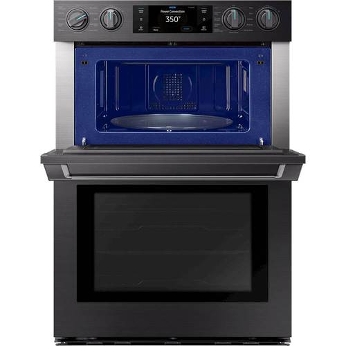 "Samsung 30 Microwave Combination Wall Oven Black Stainless Steel: 30"""" Chef Collection Microwave Combination Oven"