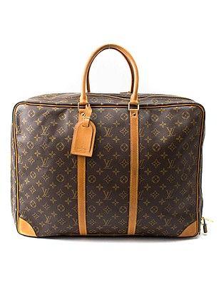 Pre Owned Luxury Bags Louis Vuitton Sirius Travel Bag Brown Luxury Bags Handbags Australia Bags