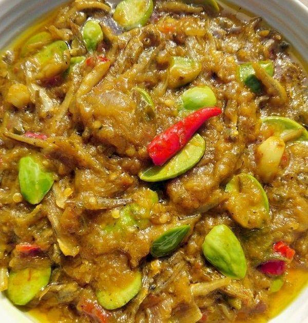 resepi tempoyak ikan bilis  petai malaysian food food indonesian food Resepi Ikan Rohu Masak Tempoyak Enak dan Mudah