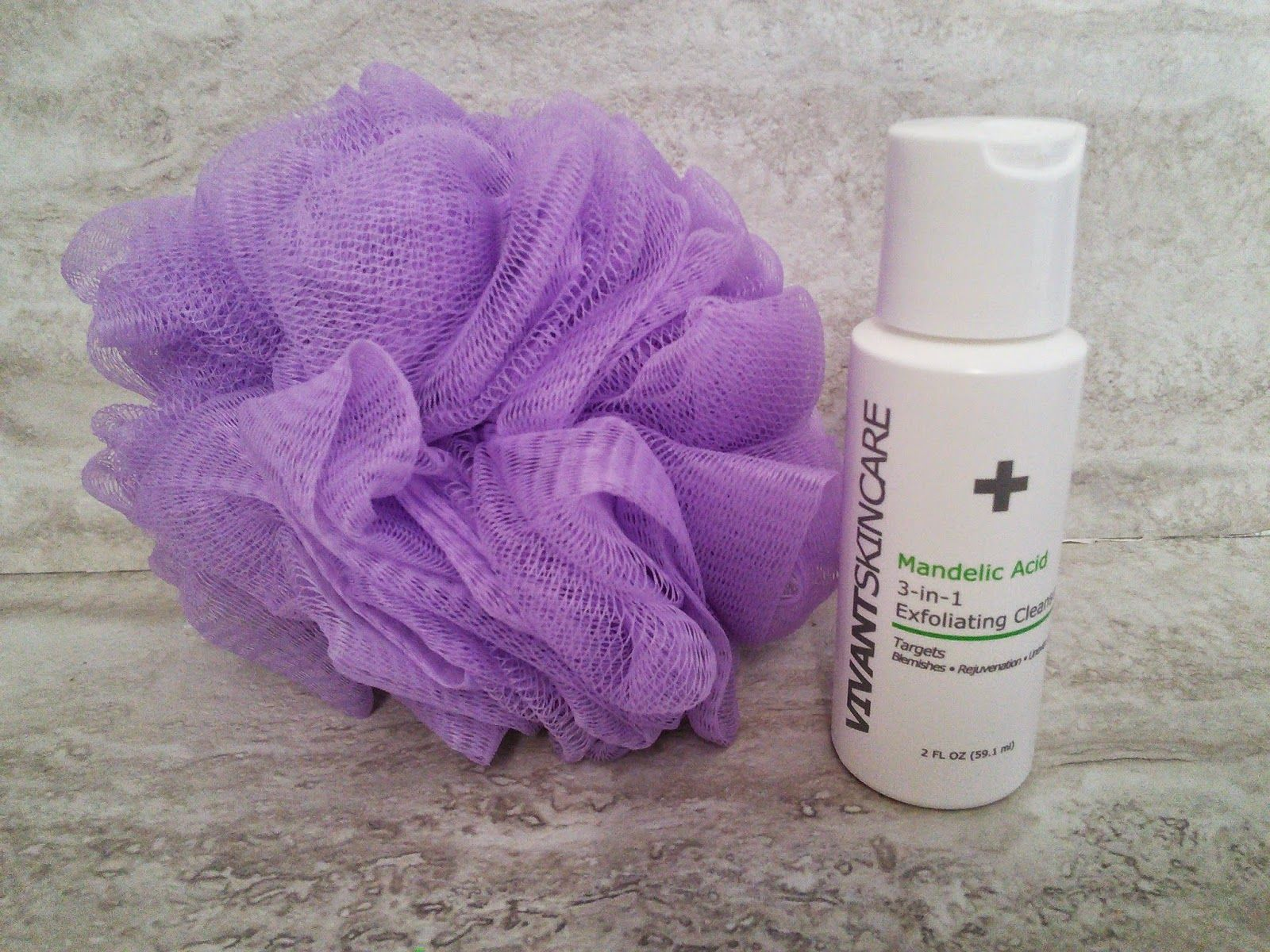 Mom Knows Best Acne Has Met Its Match With Vivant Skin Care Mandelic 3 In 1 Exfoliating Cleanser And A Giveaway Exfoliating Cleanser Exfoliating Skin