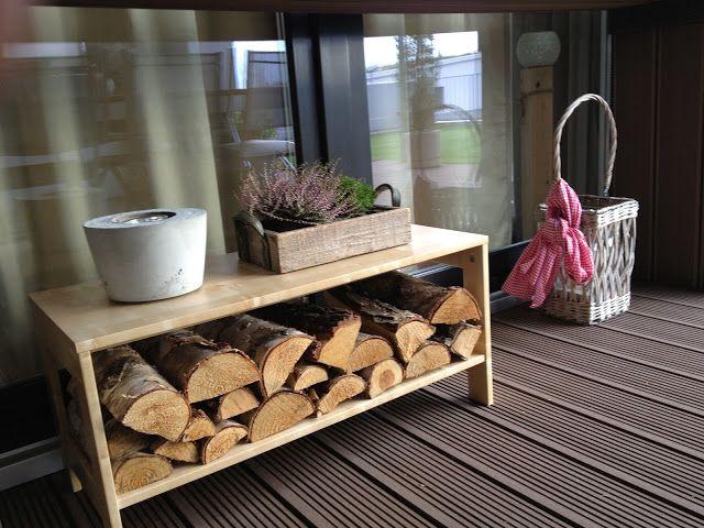 wohnbrise holz deko herbst holz pinterest garten haus and searching. Black Bedroom Furniture Sets. Home Design Ideas