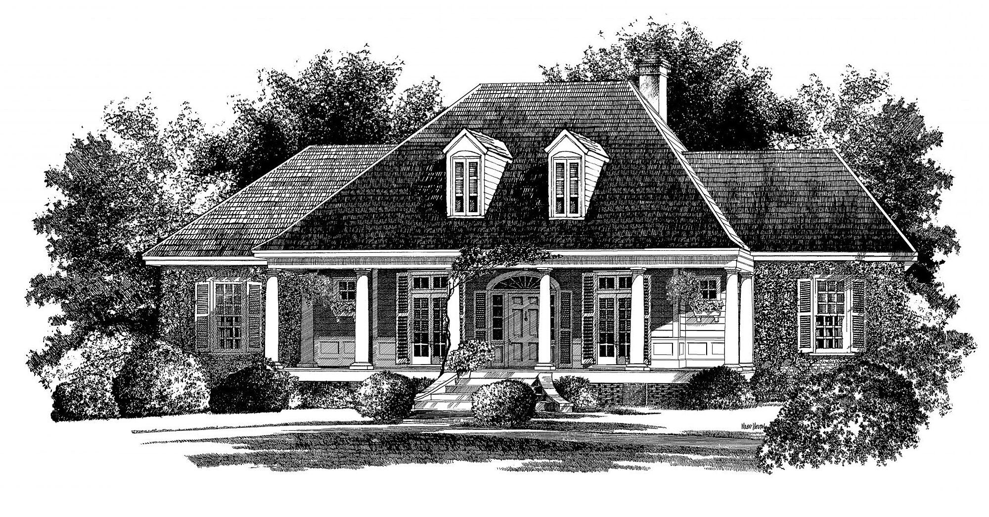French Country House Plans That Bring All The Charm French Country House French Country House Plans Country House Plans