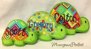 Personalized Turtle Plush Soft Toy