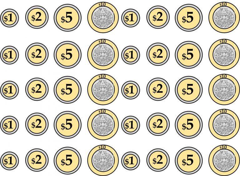 Fabulosos Y Creativos Billetes Y Monedas Para Aprender Jugand Actividades De Matematicas Actividades De Matematicas Preescolares Terapia De Lenguaje Preescolar