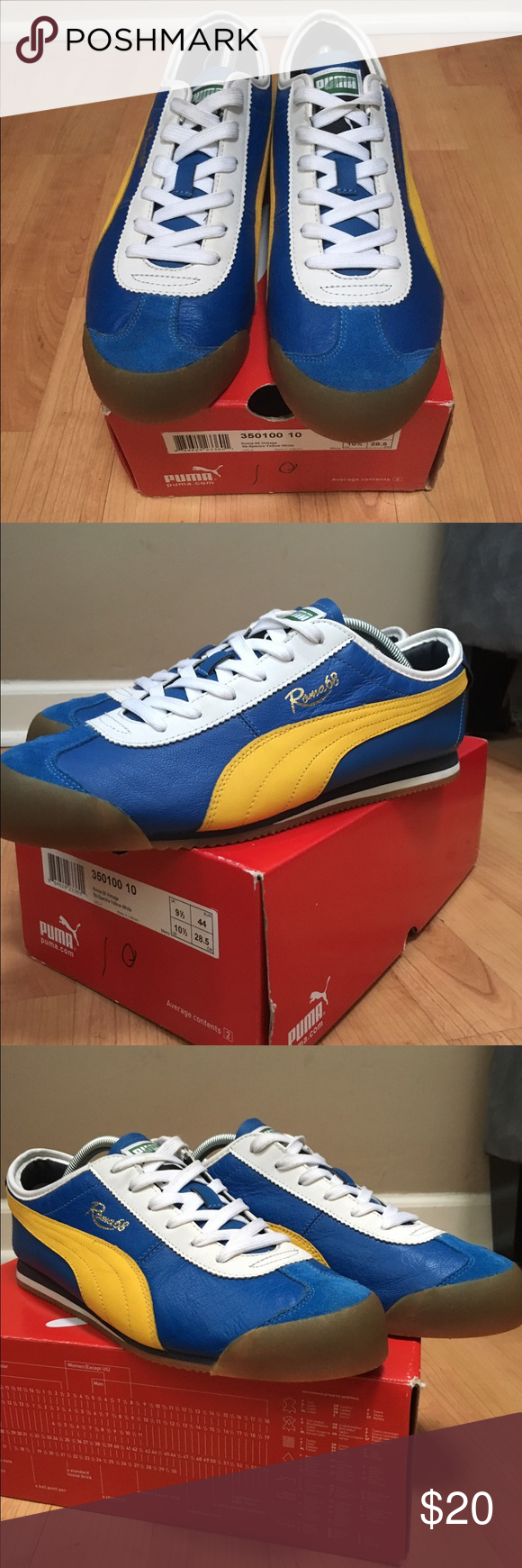 Puma Roma 68 Vintage Very good condition Puma Roma sneakers. No scuffs or damage. Puma Shoes Sneakers