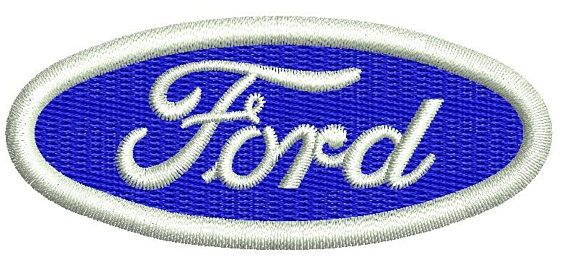 Ford Logo Machine Embroidery Design 2 Sizes Machine Embroidery Logo Machine Embroidery Designs Machine Embroidery