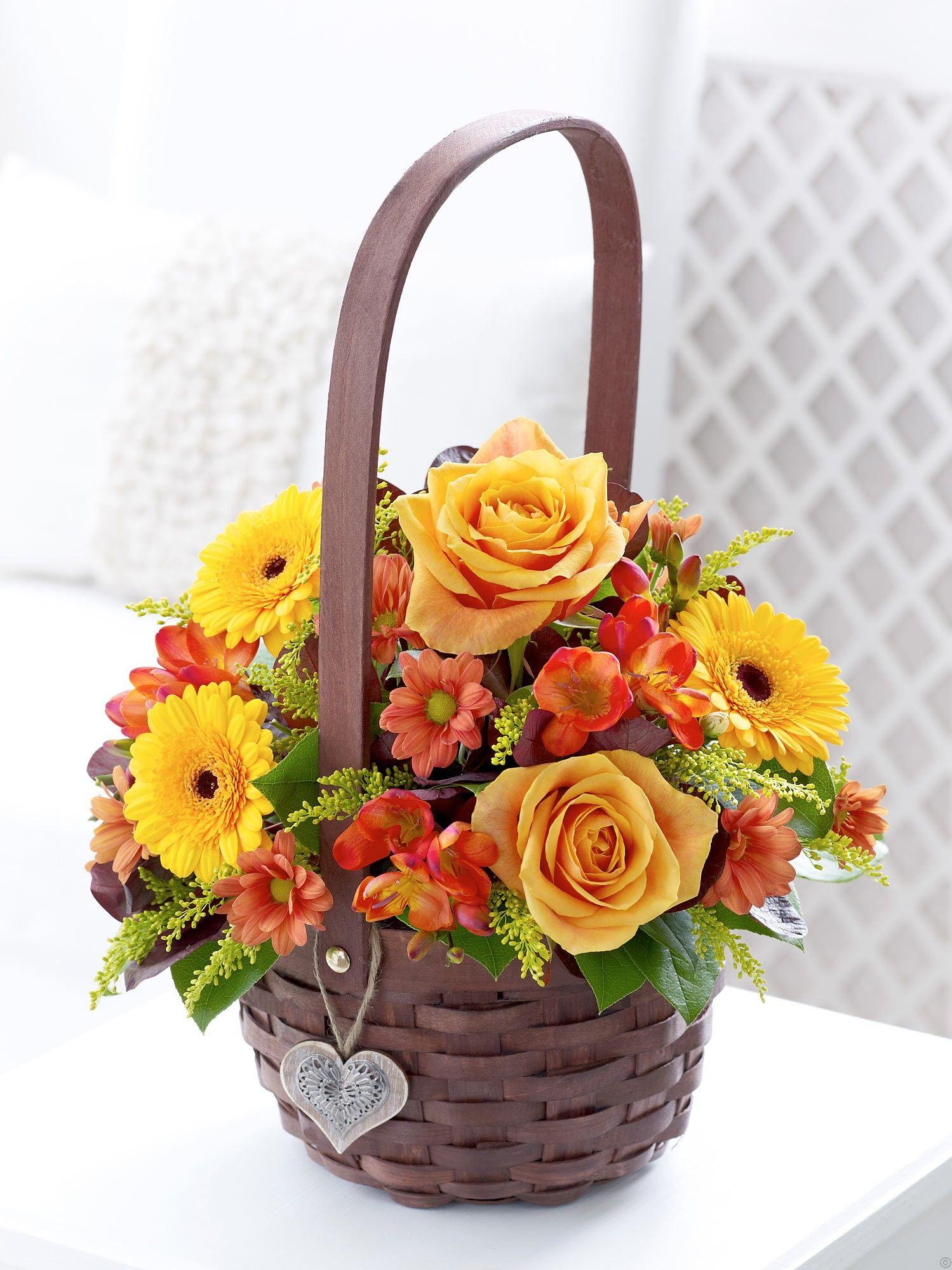 Корзинки под цветы подарки, база