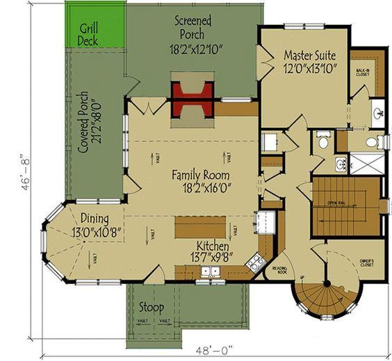 3 Bed Fairy Tale House Plan   92370MX | Architectural Designs   House Plans