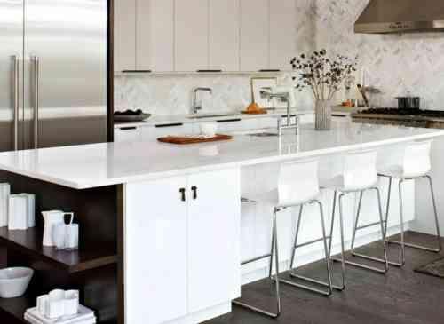 Îlot central cuisine IKEA en 54 idées différentes et originales - plan ilot central cuisine