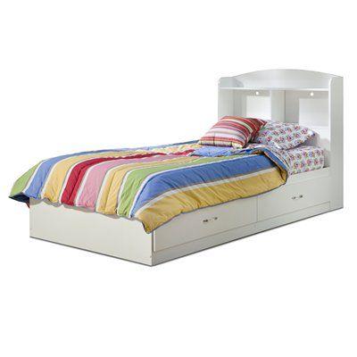 South Shore Furniture Kids  Toddler Bed Logik 2-Drawer Mate\u0027s Bed