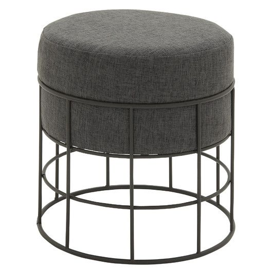 Ottoman With Cushion Furniture Outdoor Stools