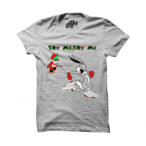 """Try Me Rabbit Hare7s Grey T Shirt. The Try Me Rabbit Hare7s Grey T Shirtis a premium quality sneakerhead t shirt. It matches with theAir Jordan 7 Retro """"Hare"""" Sneakers. *************************************************************** illCurrency is a premium quality custom streetwear and sneakerhead clothing brand. For custom t shirts email: orders@illcurrency.com *************************************************************** FOLLOW US ON INSTAGRAM: @illCurrency FOLLOW US ON…"""