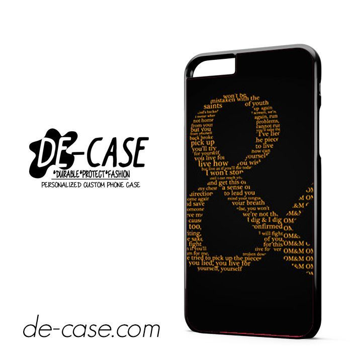 Of Mice And Men Logo DEAL-8117 Apple Phonecase Cover For Iphone 6/ 6S Plus