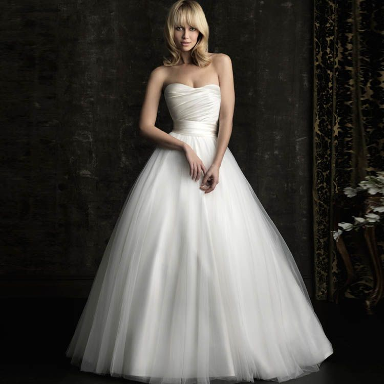 Freies Verschiffen, Prinzessin Hochzeitskleid Braut Rohr nach oben ...