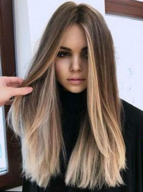 New Head Turning Long Straight Balayage Hairstyles 2020 Female You Must Consider Popular In 2020 Haircuts For Long Hair Straight Balayage Hair Undercut Long Hair