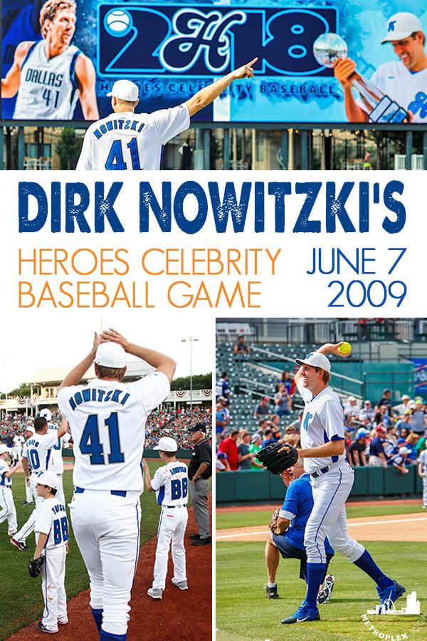 Batter Up Dirk Nowitzki S 2019 Heroes Celebrity Baseball Game Is June 7 Baseball Games Baseball Hometown Heroes