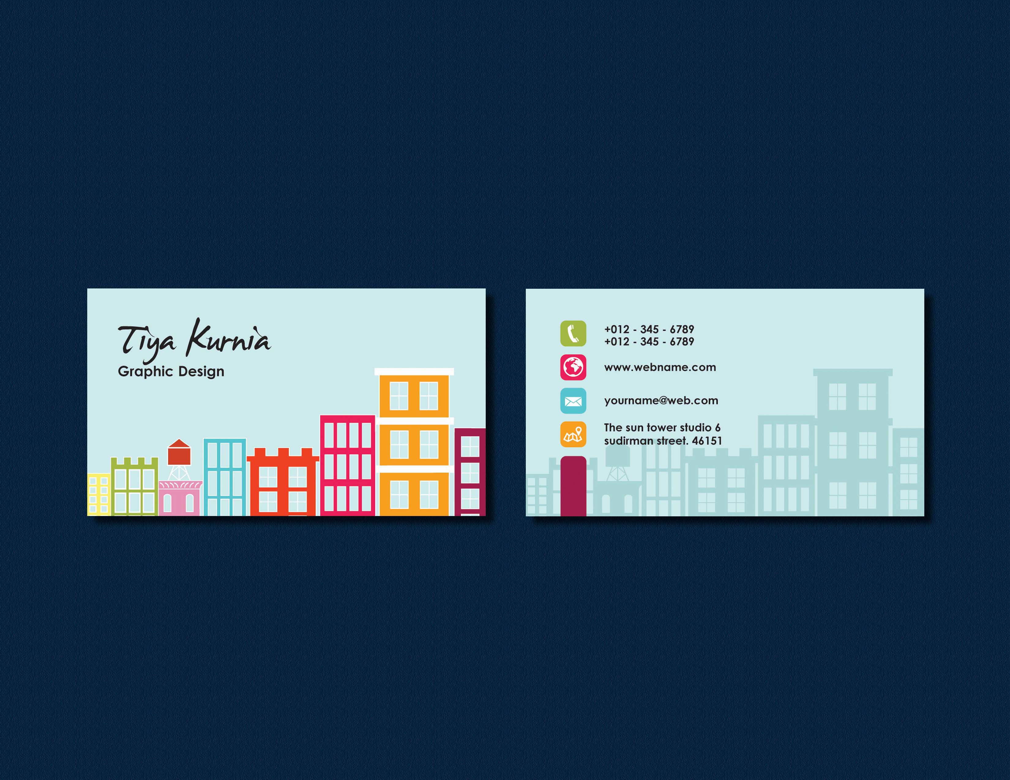 """Check out my @Behance project: """"City - Business Card"""" https://www ..."""