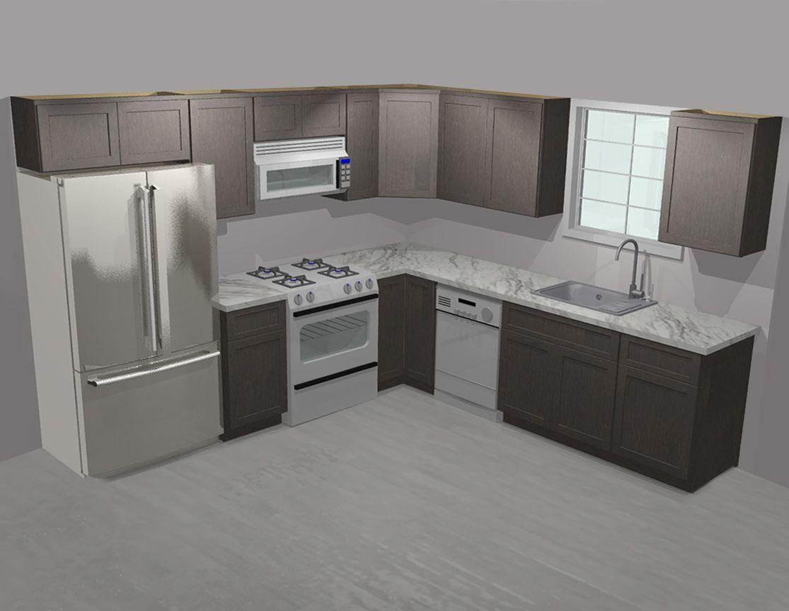 Pin By Wassim Sakri On Cuisine Moderne Design In 2020 Shaker Kitchen Cabinets Kitchen Cabinets 10x10 Kitchen