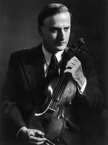 Yehudi Menuhin Violinist as a Young Man Photographic Print