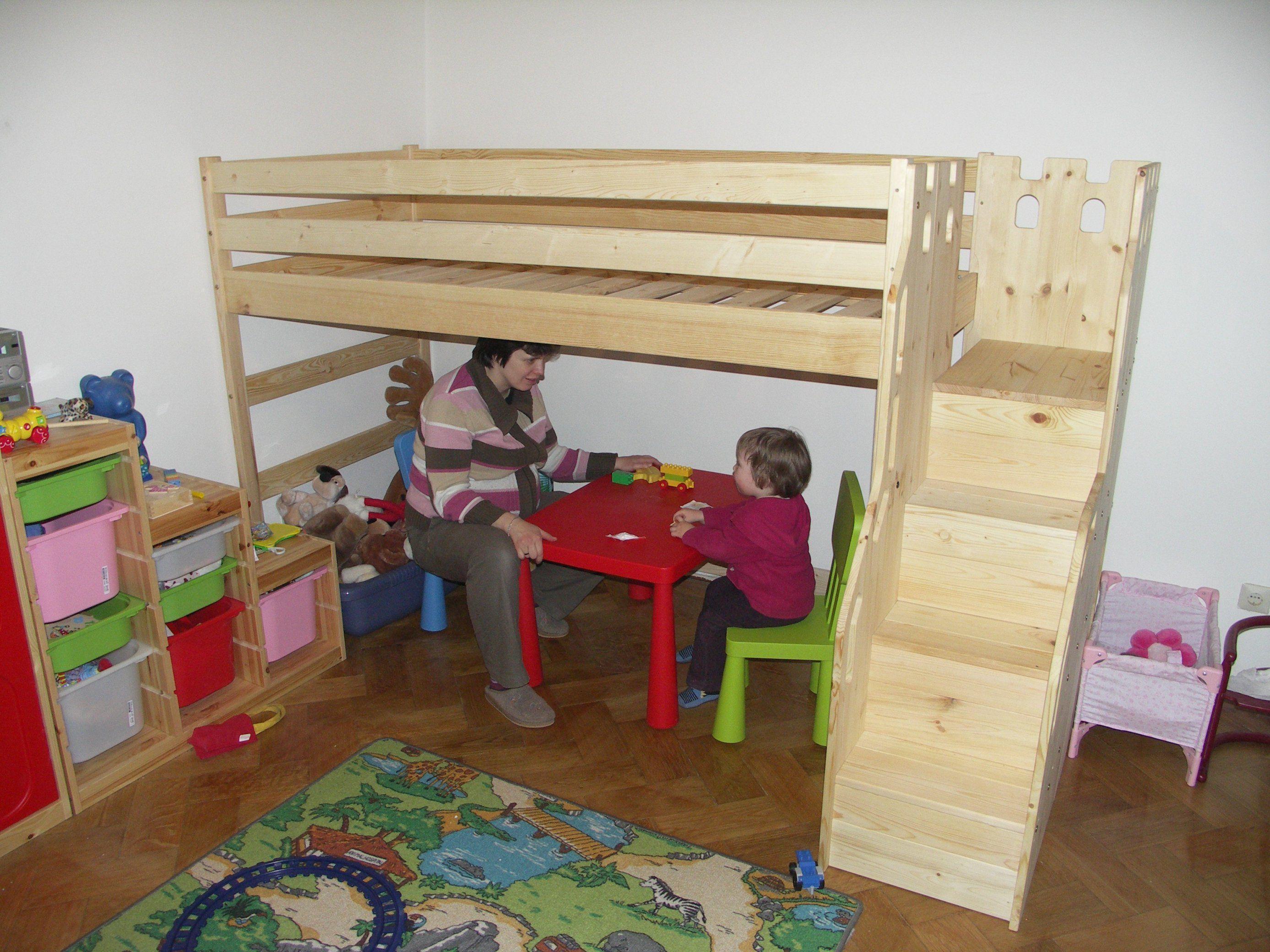 Etagenbett Mit Treppe Asoral Hochbett Loft Xl Liso Schreibtisch 4