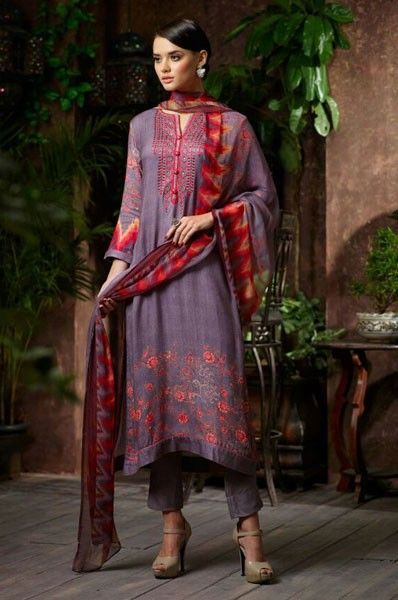 Pashmina Churidar Salwar Kameez