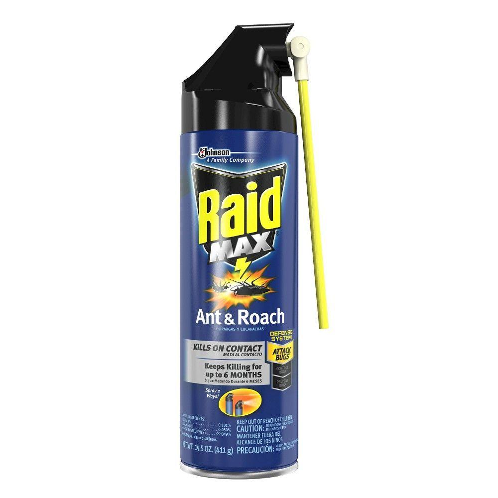 Raid Max Ant & Roach Aerosol - 14.5oz