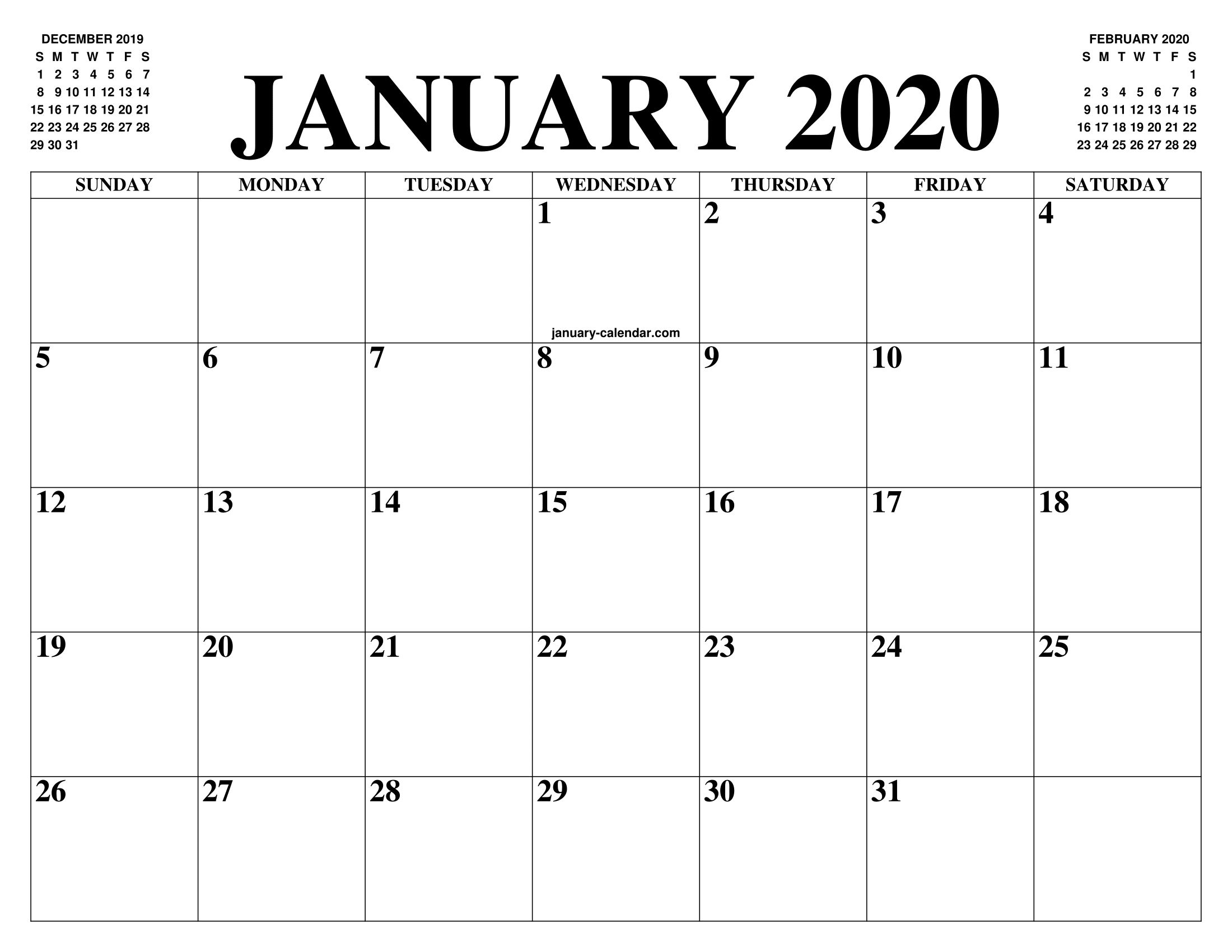Large printable calendar Wonderful