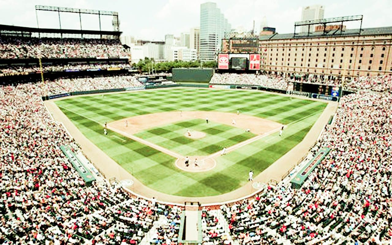 Baltimore Orioles Stadium Baseball Wallpaper