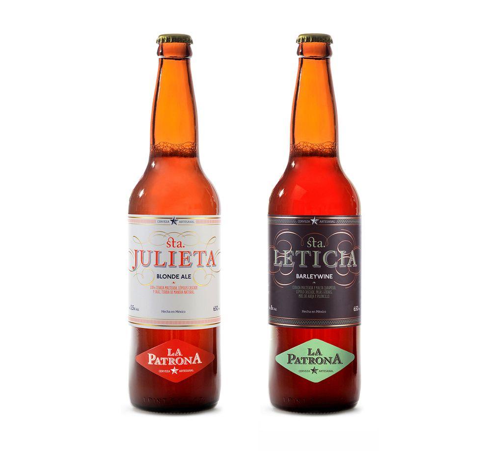 La Patrona Beer Beer Beer Design Beer Bottle